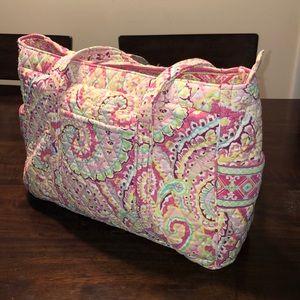 Vera Bradley Pink Diaper Bag